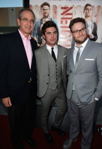 With With Chairman and CEO of Comcast Corporation Brian Roberts and Seth Rogen
