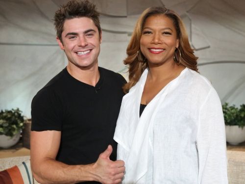zac efron queen latifah