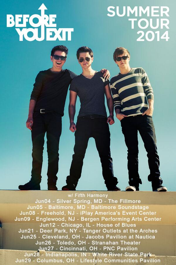 VIP Tickets For Before You Exit - 78.4KB