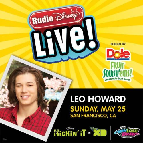 leo howard radio disney