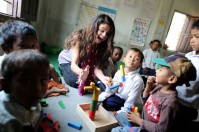 Selena Gomez visits Nepal in her role as UNICEF Ambassador