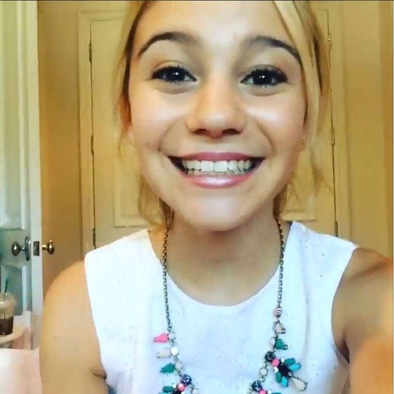 G Hannelius not only knows how  G Hannelius 2014 Instagram