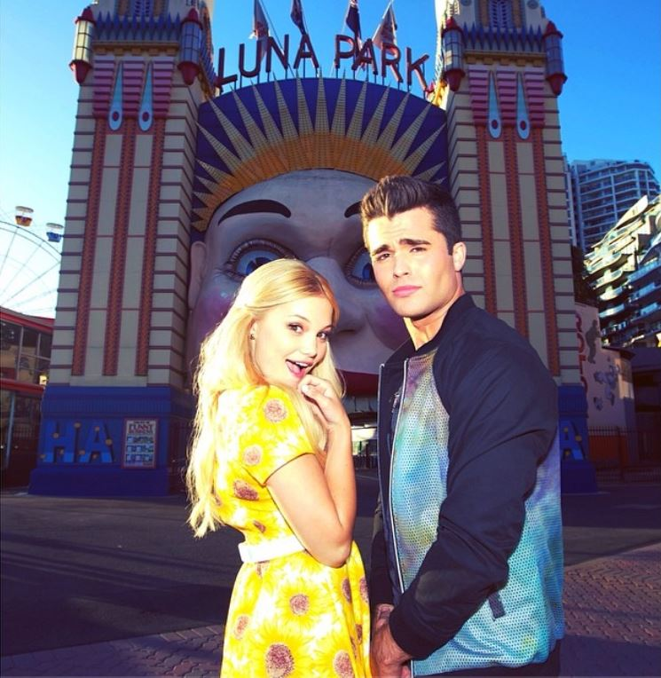 Olivia Holt And Bradley Steven Perry Olivia holt  and star fromOlivia Holt And Bradley Steven Perry