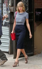 Taylor Swift Leaving A Gym In New York