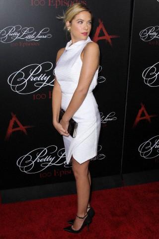 "Ashley Benson arrives at the ""Pretty Little Liars"" 100th Episode Celebration"