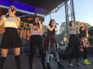 Cimorelli performs DigiFest NYC sponsored by Invisalign