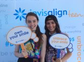 Dani & Lauren Cimorelli own & unbrace their smiles @ DigiFest NYC with Invisalign