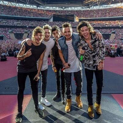 Check Out A Timelapse Of One Direction's Concerts At