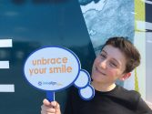 Trevo unbraces his smile at DigiFest NYC with Invisalign