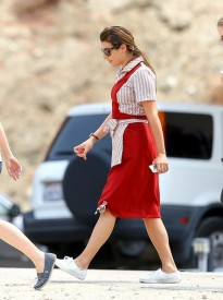 Lea+Michele+on+set+fsyYo8be7cQl