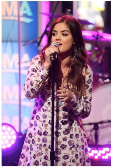 Lucy Hale DO GMA