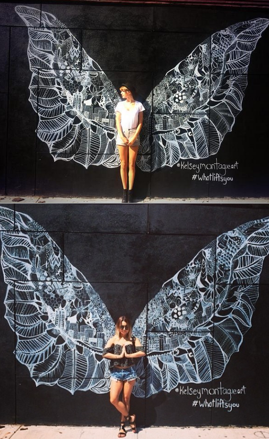 Taylor Swift And Vanessa Hudgens Both Spread Their Wings