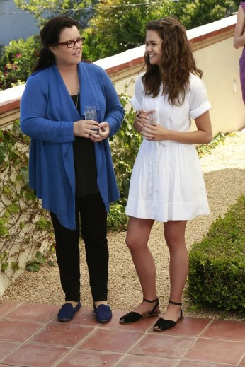 ROSIE O'DONNELL, MAIA MITCHELL