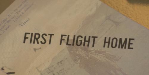 first flight home