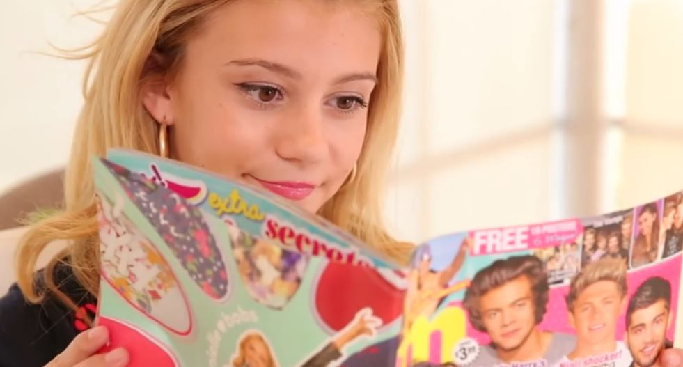 G Hannelius Shares Her Back to School Nail Art – Check It Out Here ...