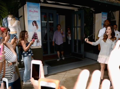 Lucy+Hale+Lucy+Hale+Launches+Collection+Hollister+ik0mzzsBThpl