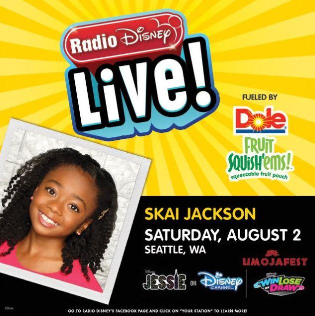 Disney Channel star from Disney's Jessie actress, Skai Jackson, is ...