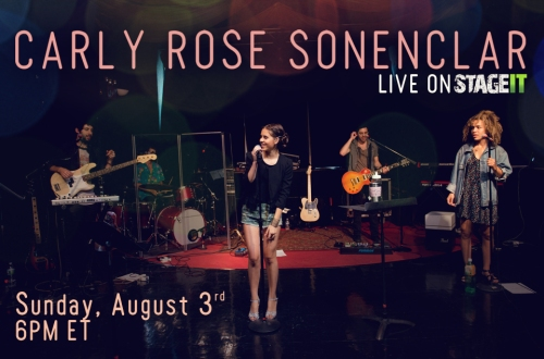 carly rose stageit