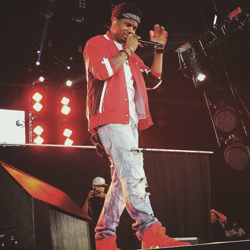 Mack Wilds in Concert 2014.