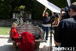 Chloe Grace Moretz Cover Shoot BTS