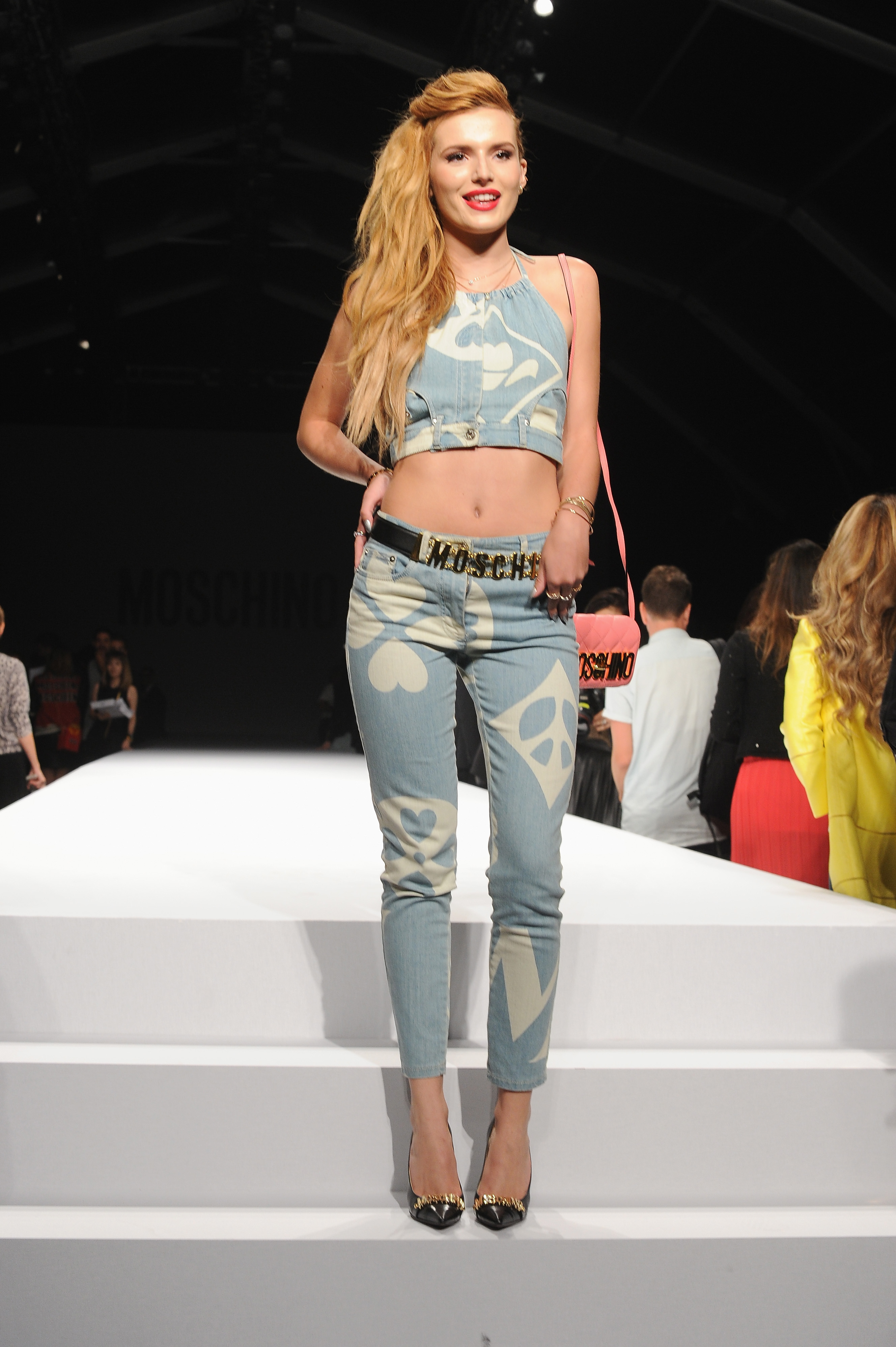 Bella Thorne Rocks The Moschino Show In Milan Italy For