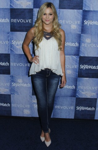 Celebrities arrive on the red carpet for Hollywood Denim Party hosted by People Stylewatch at The Line in Los Angeles, CA