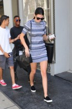 Kendall Jenner and Hailey Baldwin shopping in New York