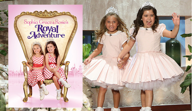 sophia grace and rosie meet taylor swift video with scott