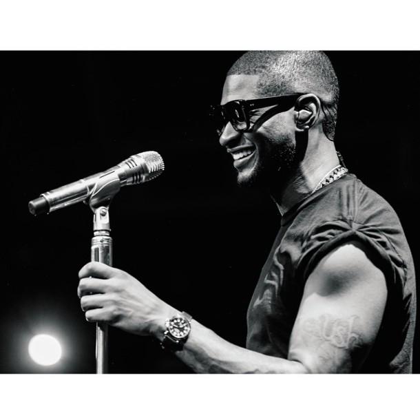 Usher on Tour.