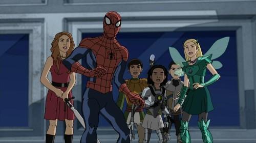 JESSIE, SPIDER-MAN, RAVI, ZURI, LUKE, EMMA