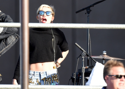 Miley Cyrus Soundcheck, Sydney Opera House 144390