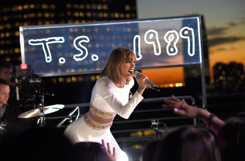 Taylor Swift's 1989 Secret Session With iHeartRadio