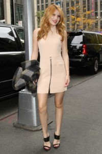 Bella Thorne is seen taking a stroll in NYC