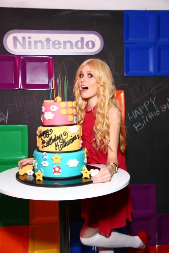 Nintendo Hosts Katherine McNamara '19th in the 90s' Birthday Celebration