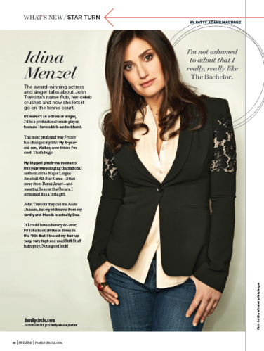 idina feature