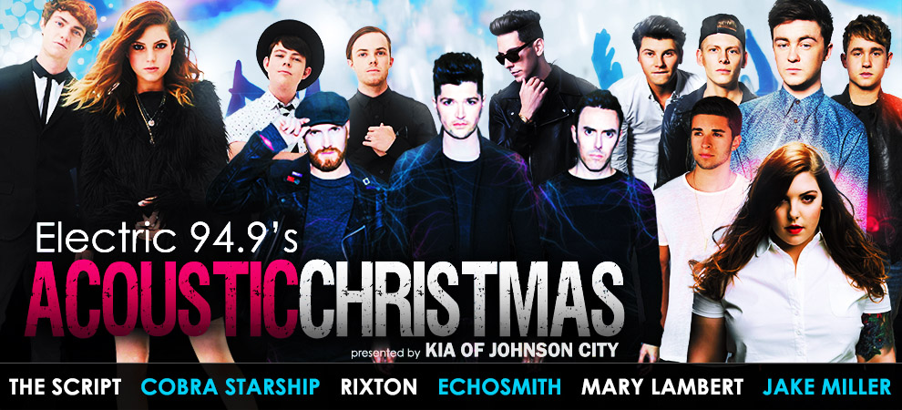 Rixton, Jake Miller & More For Electric 94.9's Acoustic Christmas ...