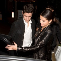 Selena Gomez seen on a date with a possible new man at Il Cielo Italian Restaurant in Beverly Hills, CA