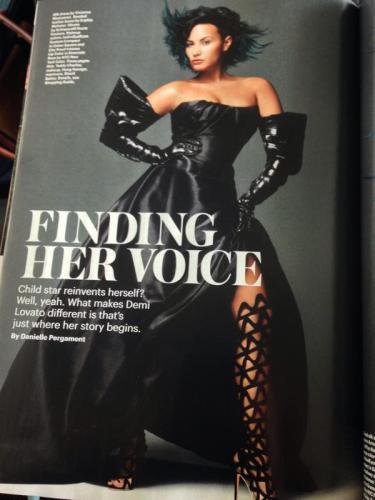 Demi Allure Magazine