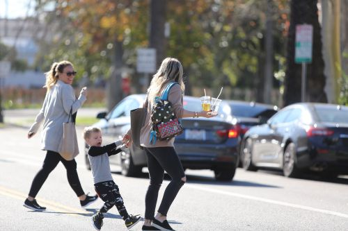 Hilary Duff with hilarious Luca