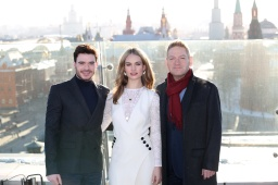 Moscow, 17 February: The stars of Disney's breathtaking live-a
