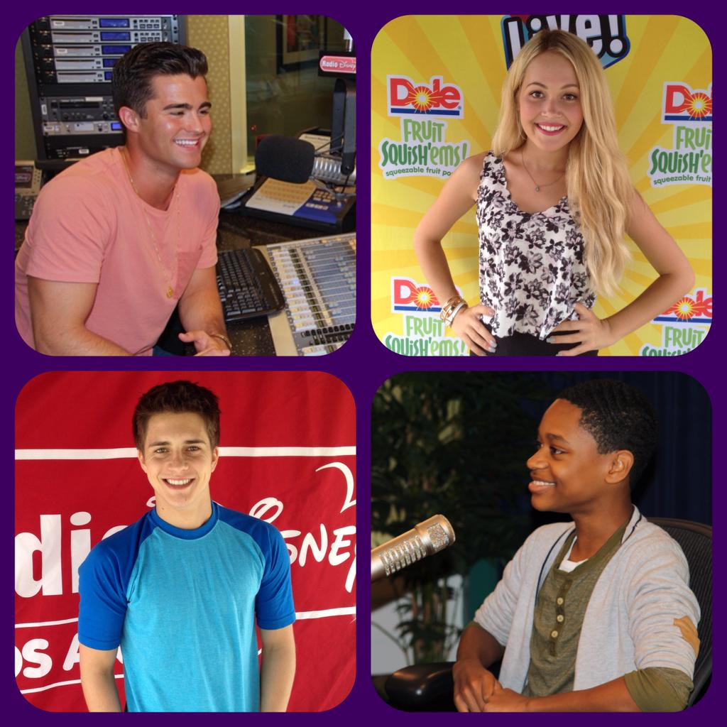 cast of disneyxd�s �lab rats� taking over radio disney�s