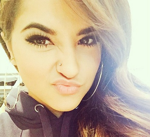 Becky G Gets Her Nose Pierced Before Her 18th Birthday