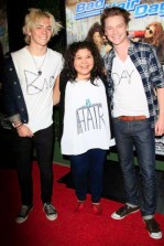 Stars at a screening of the Disney Channel Original Movie 'Bad Hair Day' in Burbank, CA