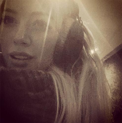 Hilary-Duff-Recording-Studio