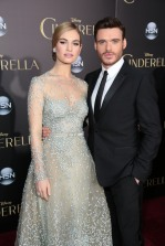 Lily James, Richard Madden