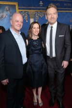 David Barron, Allison Shearmur, and Kenneth Branagh
