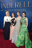 Cate Blanchett, Holliday Grainger, Lily James, Sophie McShera